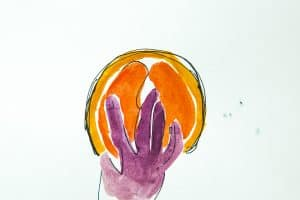 Orange and Fingers