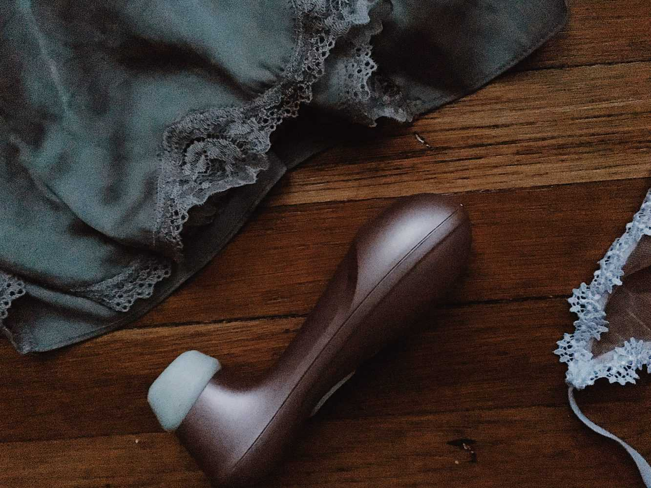 Floorscape with Vibrator and Lace