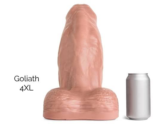 Goliath 4XL Size Comparison
