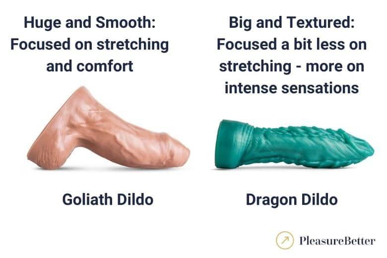 Goliath vs Dragon Dildo