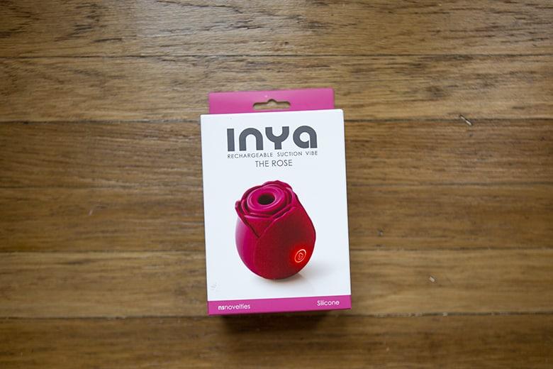 Inya Rose vibrator packaging