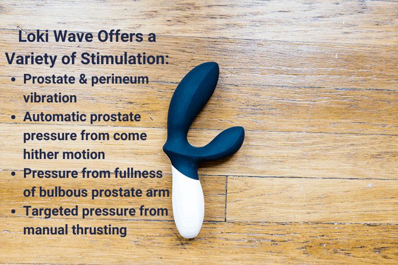 Lelo Loki Wave Types of Stimulation
