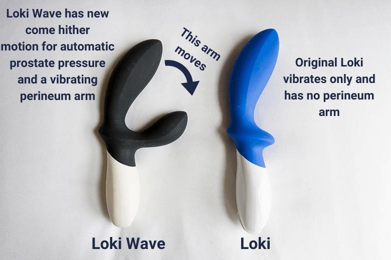Lelo Loki Wave Improvements to Original Loki