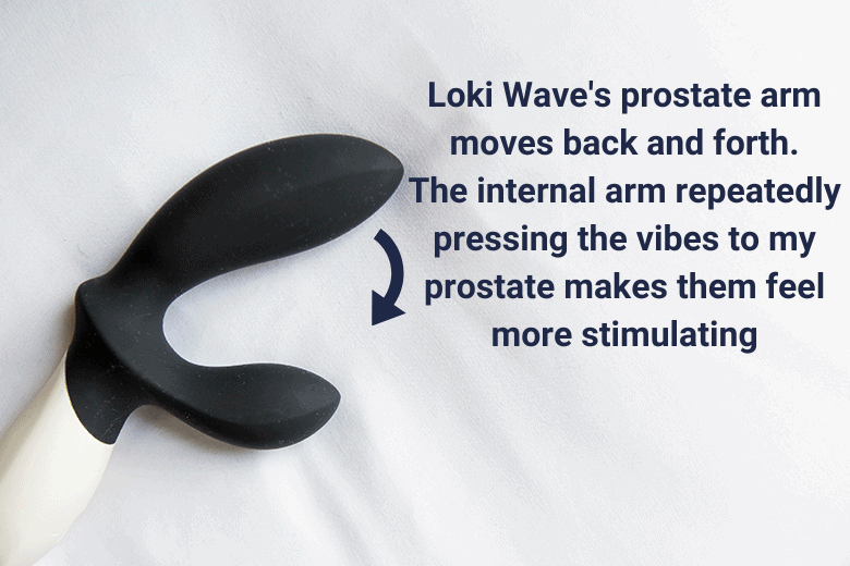 Loki Wave Pressure and Vibration Stimulation from Come Hither Motion