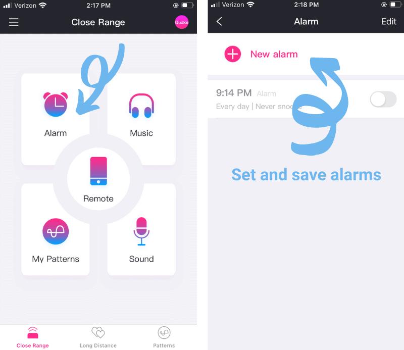 Lovense Quake Alarms
