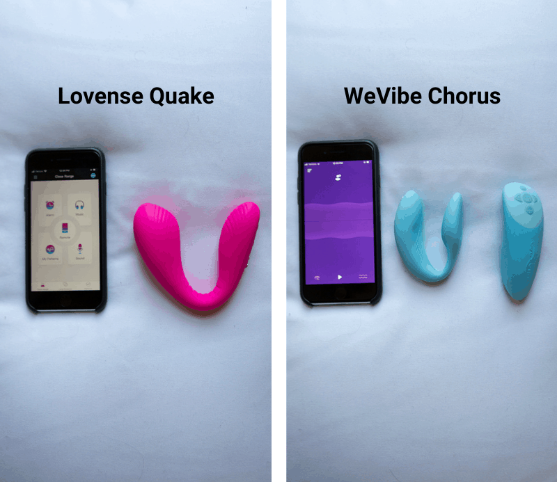 Lovense Quake vs We-Vibe Chorus