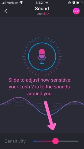 Lush 2 Sound Control