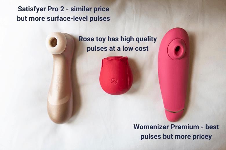 Rose vibrator high quality pulses