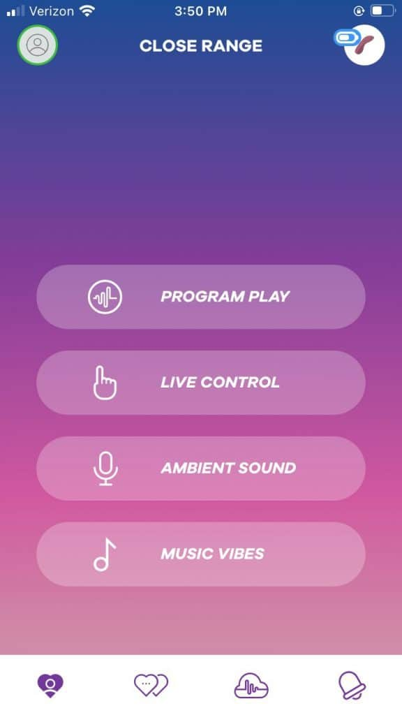 Satisfyer Connect App Control Options