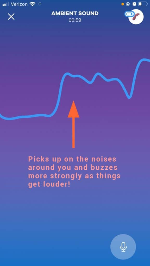 Satisfyer Connect App Using Ambient Noise