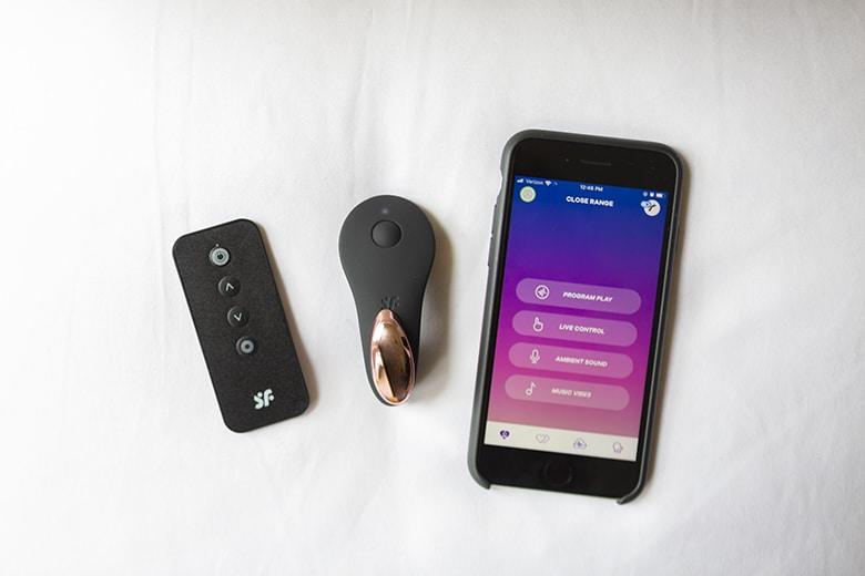 Satisfyer Little Secret App, Toy, and Remote