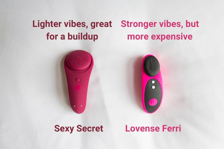 Sexy Secret vs Lovense Ferri Vibrations