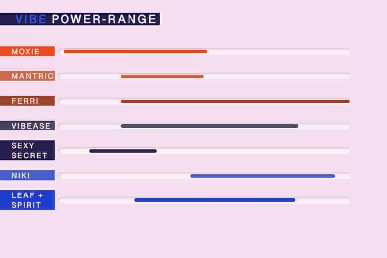 Vibrating Panties Power Ranges