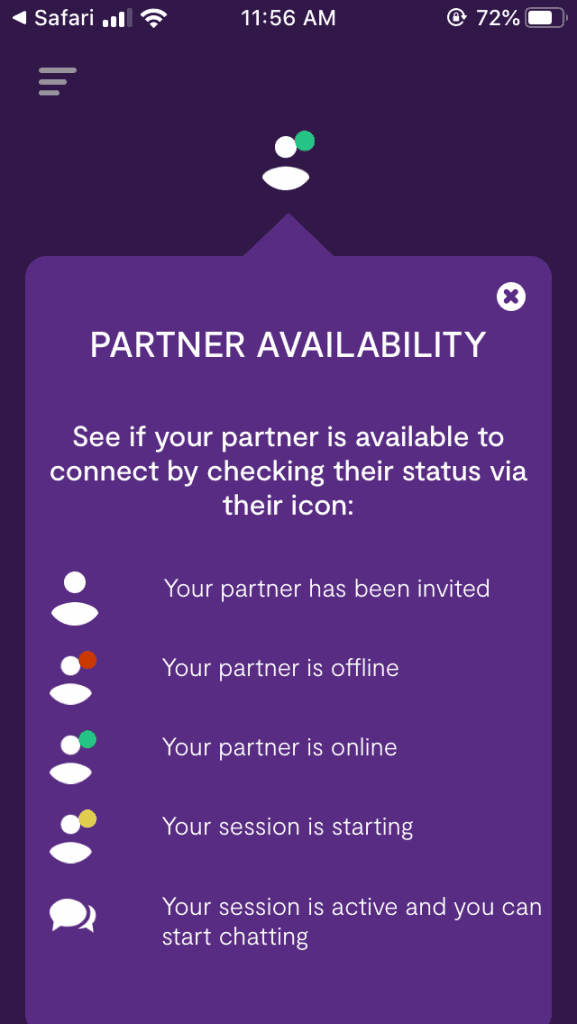 We Connect Moxie Partner Availability