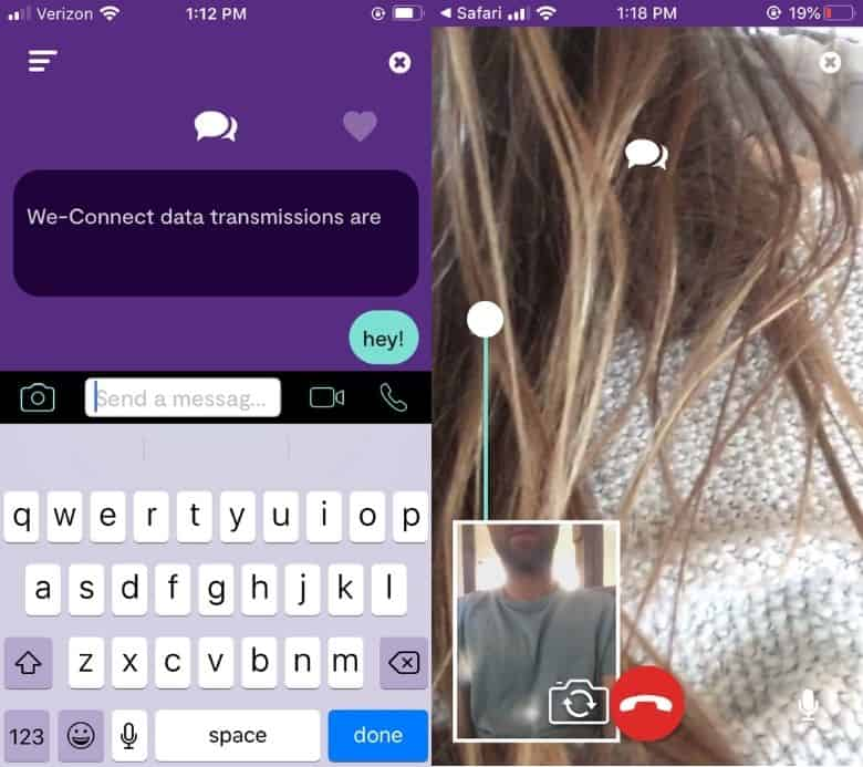 We-Vibe Long Distance Chat and Video