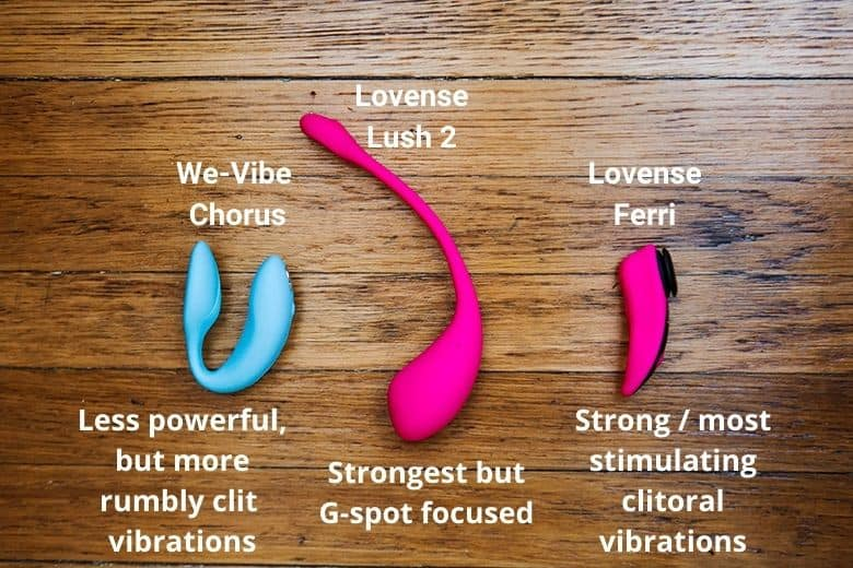 We-Vibe vs Lovense Power