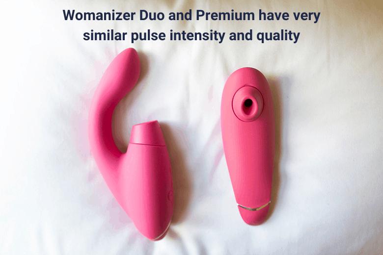 Womanizer Duo vs Premium Air Pulses