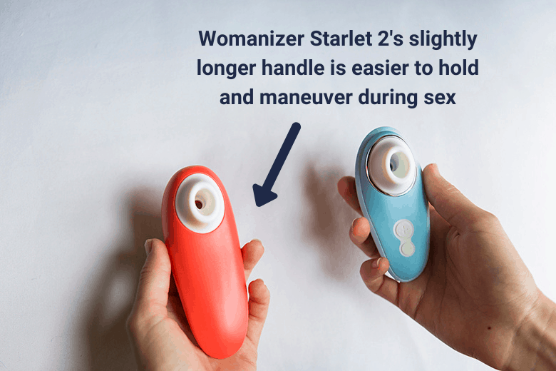 Womanizer Liberty vs Starlet 2 - Ease of Use During Sex