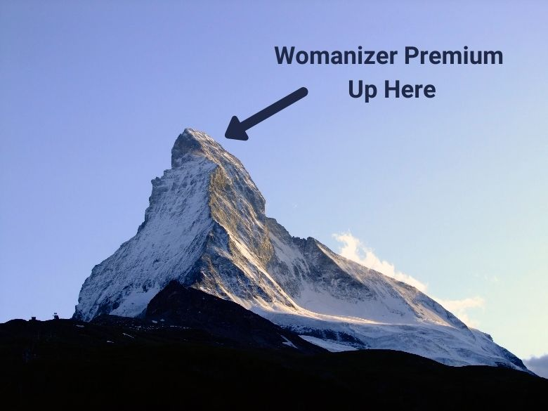 Womanizer Premium at Top of the Mountain